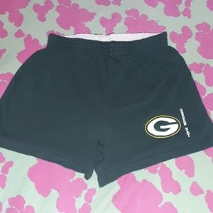 NFL Team Apparel Green Bay Packers Shorts Small